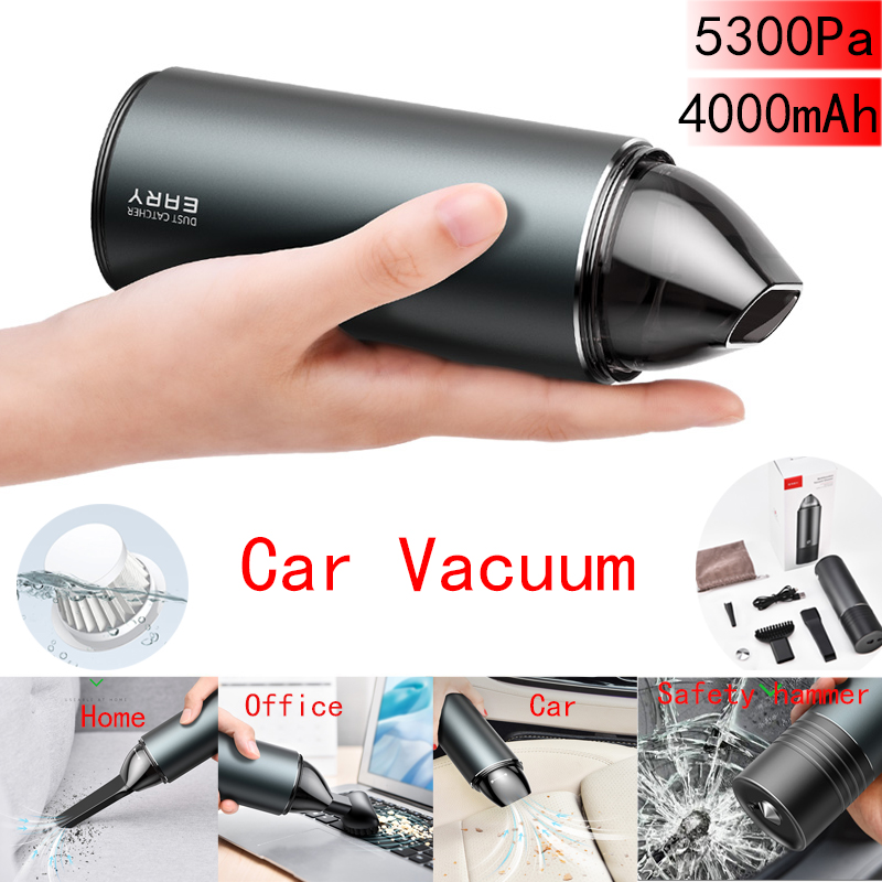 Cordless Vacuum Cleaner, Wet & Dry Portable Lightweight For Car And Laptop,Home,PC Keyboard,Camera Lens Cleaning Kit Blower