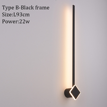 Gold&Black Modern Led Wall Lamp Bedside Light Sconce Wall Lamp for Home Living room Bedroom Dining room Led Wall Indoor Lighting crystal wall lamp wall lights sconce bedroom bedside lamp candle double wall lamp for bedroom living room restaurant beside lamp