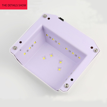 36W UV Led Nail Lamp Automatic Sensor 16 Lights No Spiral Light UV LED Dryer All Gel Polish Machine Nail Art Tools 5