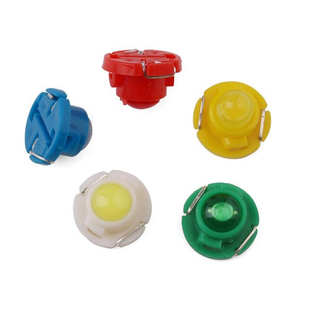 10Pcs <font><b>T3</b></font> LED 1SMD <font><b>12V</b></font> Car Dashboard Indicator Light Interior Reading Lamp Bulbs Automobile на авто автотовары carros Accessories image