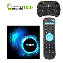 2020 Newest T95 H616 Smart Android TV Box Android 10.0 Suppo