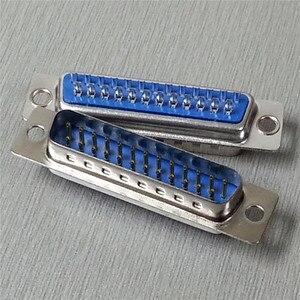 5 шт./лот DB25 25 P параллельный порт DB25 25 контактный разъем D Sub для припоя DB25 разъем COM адаптер