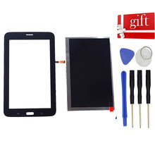 Lcd Voor Samsung Galaxy Tab 3 Lite Sm-T110 T111 T113 T116 Lcd-scherm Panel Module Touch Screen digitizer Sensor Glas(China)