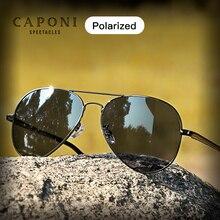 CAPON Classic Brand Avation Sunglasses For Men Polarized Len