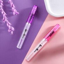 Neue Japanische Pilot Kakuno Brunnen Pen Transparent Tinte Stift Brunnen Stifte Schule Supplies Niedlich Schreibwaren