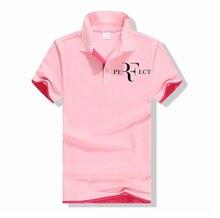 2020 nowa koszulka Polo RF roger federer logo bawełniana koszulka Polo z krótkim rękawem duża ilość koszulki polo p