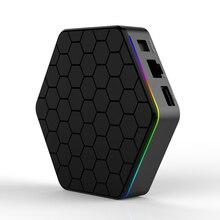 ТВ приставка T95Z Plus/T95 MAX PLUS, 16/32/64 ГБ, Android 7,1/9,0, 4K, Smart TV BOX, 2,4G/5 ГГц, Wi Fi, BT4.0, ТВ приставка, T95 медиаплеер