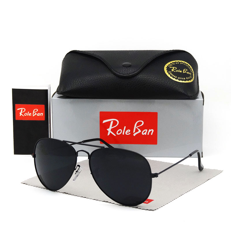 High Quality Design Pilot Women Men Sunglasses Uv400 Aviation Brand Classic Mirror Male Oculos Vintage Banned Man Sun Glasses