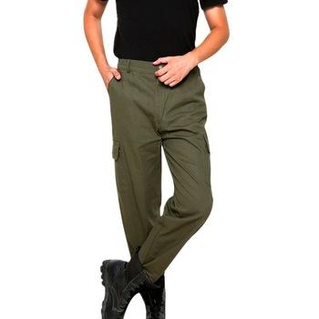 CYSINCOS taktyczne spodnie wojskowe męskie wodoodporne spodnie Cargo oddychające solidne spodnie bojówki biegacze SWAT spodnie bojówki tanie i dobre opinie Cargo pants Pełnej długości Mieszkanie Luźne Poliester COTTON Midweight Suknem Przycisk Na co dzień Wysokiej Zipper fly
