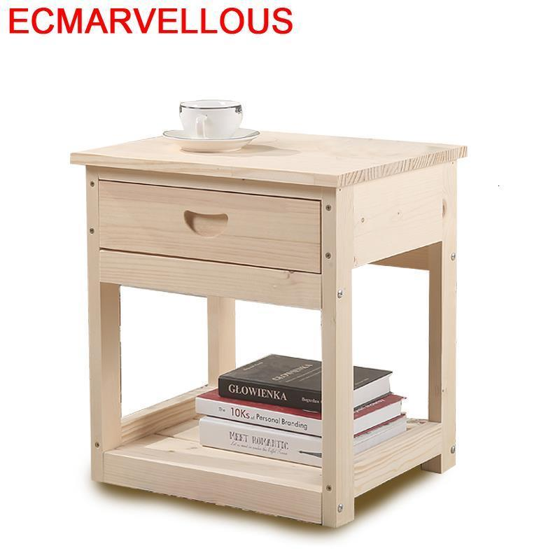 Casa Recamaras Mobilya Schlafzimmer Night Stand European Wood Cabinet Mueble De Dormitorio Bedroom Furniture Quarto Nightstand