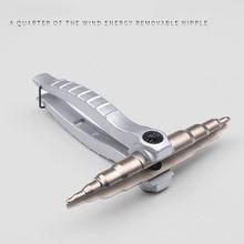 Сплав мини-вентилятор Профессиональный расширитель трубки Электроинструмент ручной двойной конец легко работать эргономичная медная труба