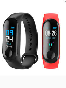 Smart Bracelet Couple Sports-Watch Sphygmomanometer-Step Female Students M3 Heart-Rate