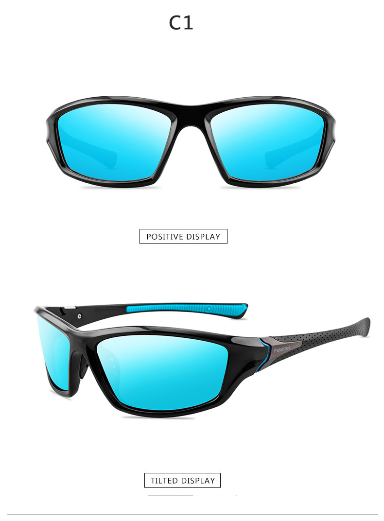 2020 NEW Polarized Sunglasses men Brand designer vintage Sun Glasses  Driver/Ride/Sport Anti-glare Women  Goggles  UV400
