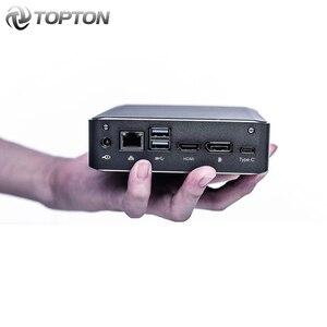 Image 2 - كمبيوتر صغير من TOPTON يعمل بنظام تشغيل Windows 10 بمعالج Intel i7 10510U i5 10210U i3 8145U 2 * DDR4 M.2 Nuc كمبيوتر محمول من النوع C 4K 60Hz HDMI2.0 DP