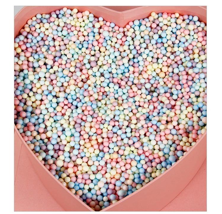 10g Colorful Foam Ball Box Filler Bachelorette Party Women Favorite DIY Gift Packing Baby Shower Wedding Decor Candy Box Filler