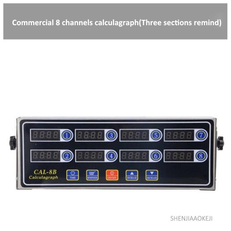 4 channel/8 kanal/12 kanallı zamanlayıcı çok kanallı hatırlatmak zamanlama makinesi ticari calculagraph kızarmış tavuk için vb 220 V/110 V Kişisel Bakım Aletleri Parçaları Ev Aletleri - title=