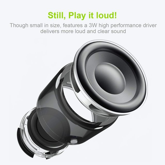 EWA IP67 Wasserdichte Bluetooth Lautsprecher Tragbare Outdoor Lautsprecher Wireless Mini Spalte Stereo Musik Surround Bass Box A106Pro 3