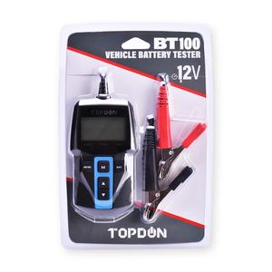 Image 5 - TOPDON BT100 Car Battery Tester 12V 100 2000 CCA  Auto Batteri Analyzer Test Load Capacity Testing for Car Truck Motorcycle