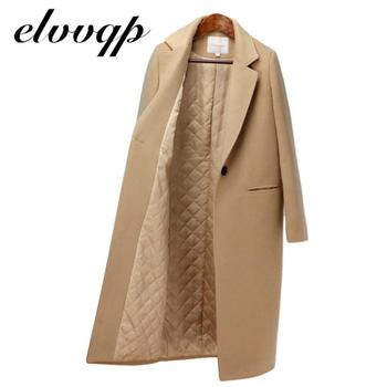 Winter Coat Women New Arrival Fashion Wool Coat Outerwear Female Long Plus Cotton Thick Warm Woolen Overcoat Women Trench Coat new winter coat women oversize fashion cashmere wool outerwear female long thickening warm woolen overcoat womens trench coats