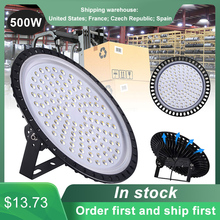 IP65 50/300/500W UFO LED High Bay Lights Waterproof Commercial Industrial Lighting Energy-saving Warehouse Ultra Bright Lamp