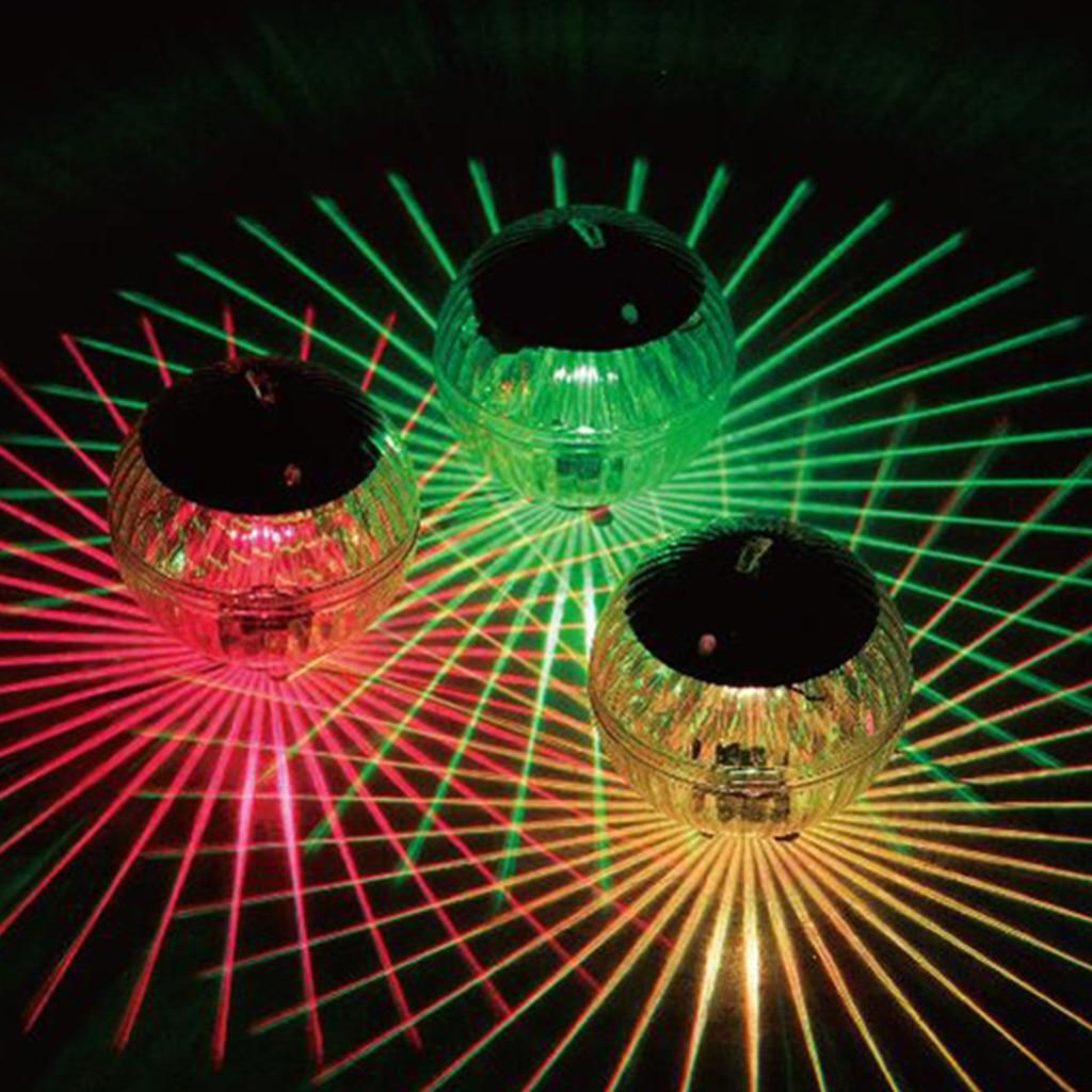 Светодиодный свет бассейн Солнечный свет водные плавучие лампы с плавающей подводный свечение показать плавательный бассейн гидромассажн...