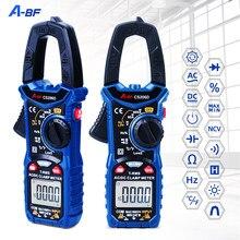A-BF digital ac/dc medidor de braçadeira rms verdadeiro multímetro faixa automática max/min ncv tensão atual temp capacitor tester cs206b/cs206d