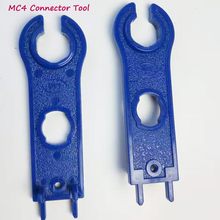1 pair of MC4 connector spanners  Disconnect Tool Wrench ABS Plastic tools for PV Solar Panel Cable Accessories