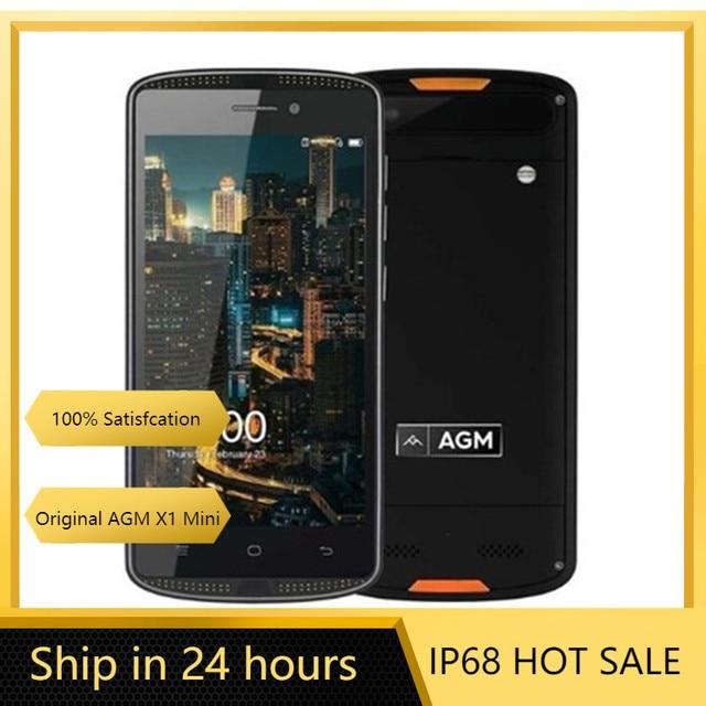 Original New AGM X1 Mini IP68 Shockproof Dustproof Waterproof Smartphone 4G LTE 4000mAh Android 2GB 16GB 8.0MP Unlocked Celular