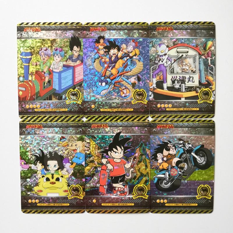 18pcs/set Super Dragon Ball Z Heroes Vehicle Fourth Bomb Battle Card Ultra Instinct Goku Vegeta Collection Cards Free Shipping