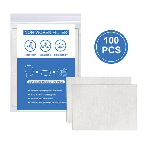 100pcs Disposable Face Masks Replacement Filtering Pad Breathable Mask Gasket Respiring Mat For Kf94 N95 KN95 Ffp3 Ffp2 All Face