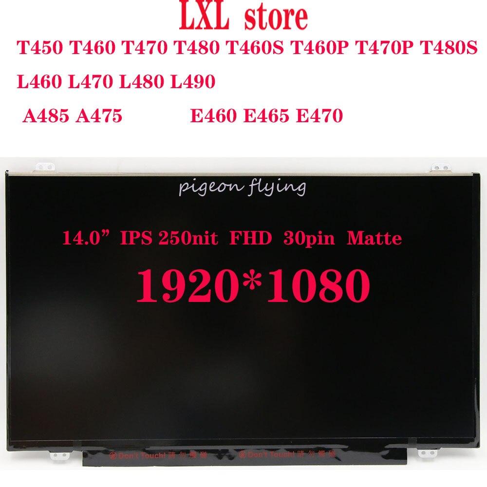 T470 Laptop LCD Screen For Lenovo 14.0