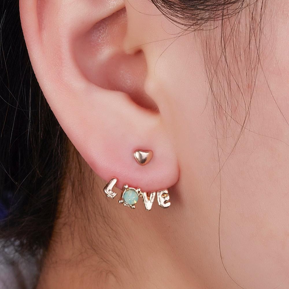 Women Girl Lovely Cute Waterdrop Shape Gift Stud Earring Fashion Jewelry