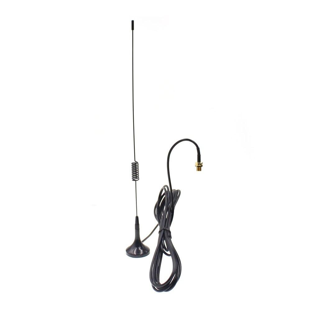 UT-102UV SMA-F Magnetic Mount Antenna Dual Band 130/430MHz For Handheld Walkie Talkie UV-82 UV-5R 888S