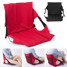 Newly Reclining Stadium Seat with Back Support Foldable Lightweight Portable Bleacher Chairs SD669