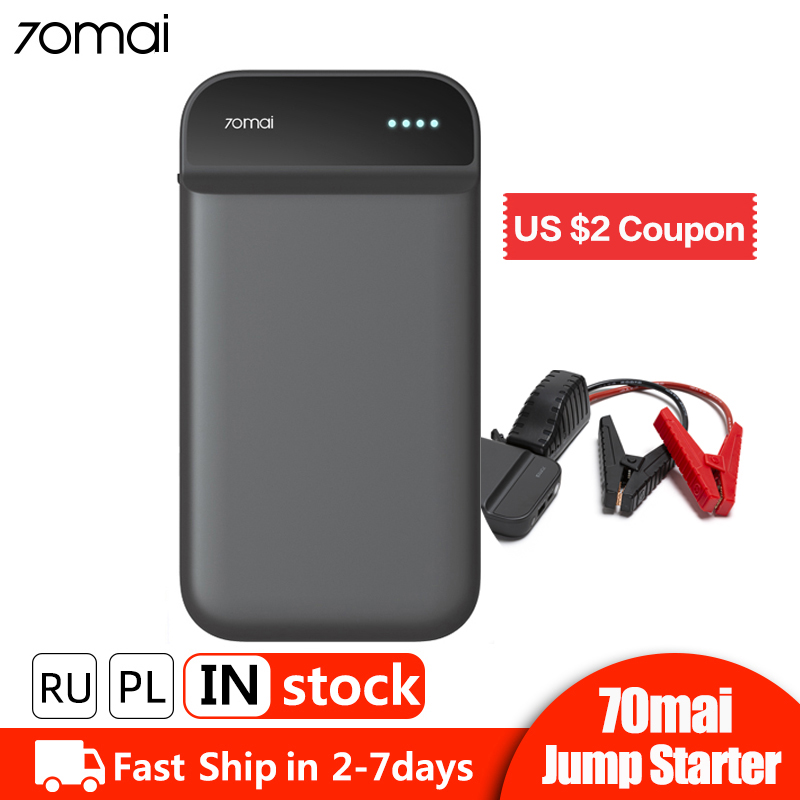 70mai Car Starter Battery-Charger Power-Bank Emergency-Booster Auto Buster 600A Portable title=