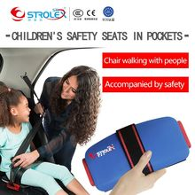 Ifold Foldable Portable baby Car Seat Safety Cushion Kids Safety Toddler Seat Mat 2-12 Years old Mini Baby Car Seat Harness все цены