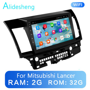 2G+32G 2.5D 2Din Android 8.1 GO car Multimedia player GPS for Mitsubishi Lancer 2008 2009 2010 2011 2012 2013 2014-2016 WiFi BT(China)