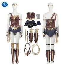 цена ManLuYunXiao Wonder Woman Cosplay Costume Batman v Superman: Dawn of Justice Cosplay Superhero Free Shipping Update Yersion онлайн в 2017 году