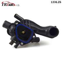 Coolant Thermostat Housing and Gasket For 07-13 Mini Cooper 11 53 7 534521 PEUGEOT 207 16V RCZ 3008 MPV CITROEN C4 DS3 DS4 DS5