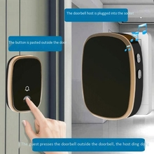 Wireless Doorbell with Receivers-Easy Install, over 1000-Feet Range Feet with 45 Melodies, 4 Volume Levels(US Plug)