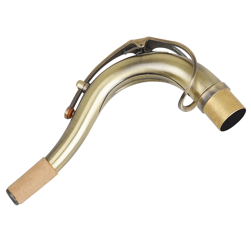 1Pcs Tenor Saxophone Sax Brass Bend Neck 2.7cm for Tenor Sax Saxophone Accessories Gold Woodwind Instruments