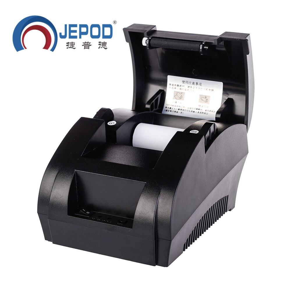 JP-5890k 58mm Schwarzer Thermobondrucker 58mm Thermodrucker 58mm USB - Büroelektronik - Foto 3