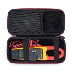 Жесткий чехол EVA для Fluke 323/324/325 True-RMS, зажим для мультиметра, TRMS, сетчатый карман для аксессуаров, чехол