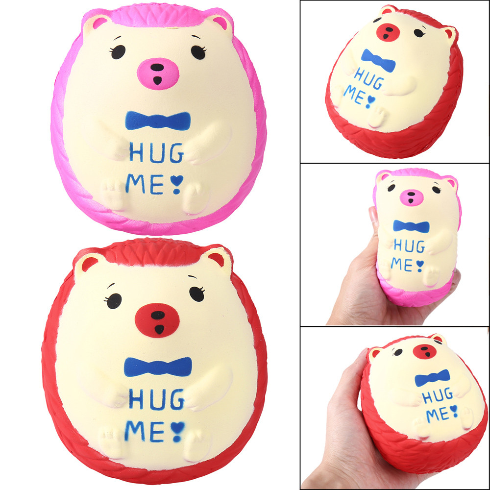 2020 NEW HOT Children's Toys Squishy Cute Hedgehog Scented Charm Slow Rising Squeeze Stress Reliever Toy