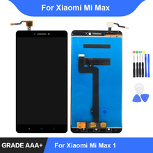 For Xiaomi Mi Max LCD Display Touch Screen Digitizer Assembly Repair Parts for Xiaomi Mi Max 1 Display with Frame Replacement lcd display screen and touch digitize assembly for xiaomi mi max white color with assuring