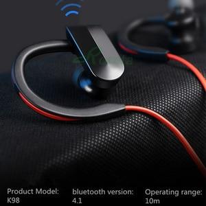 Image 3 - Roreta K98 auriculares inalámbricos auriculares Bluetooth deporte inalámbrico cascos Bluetooth estéreo con micr para Android IOS