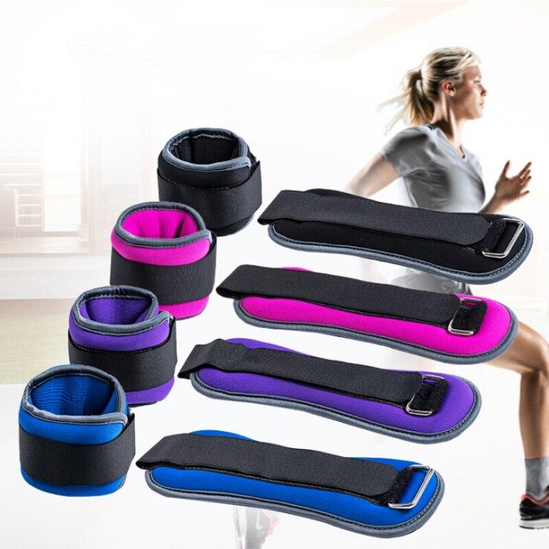 Faixa ajustável de resistência corporal, 1kg/0.5kg, fivela de tornozelo, academia, multi coxa, perna, tornozelo, potência ajuste de levantamento de peso
