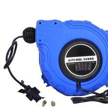2x1. 5-2,5 мм 10-20M источник электрической энергии катушка для шланга, автоматическая выдвижная катушка шланги сантехнические