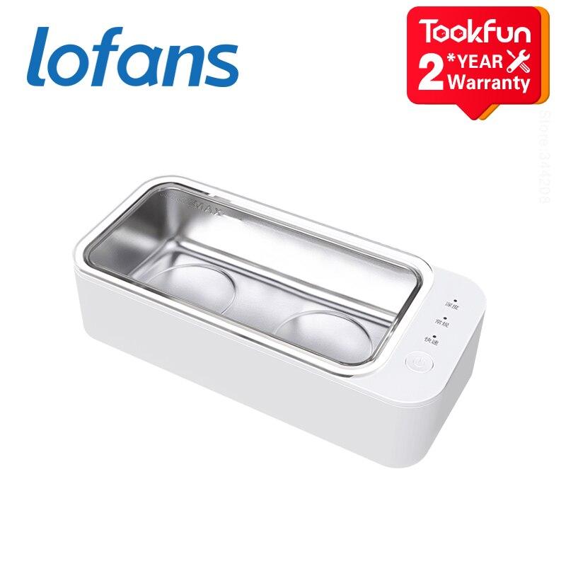 Nouveaux nettoyeurs à ultrasons Lofans version double cœur vibrateur sonique lavage nettoyage appareil à ultrasons Wibrator