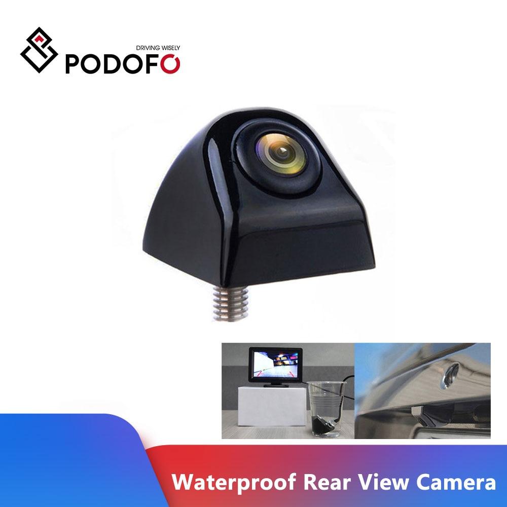 Podofo Waterproof Rear View Camera 170 Degree Wide Angle Car Back Reverse Camera Parking Assistance Backup Camera Car-styling